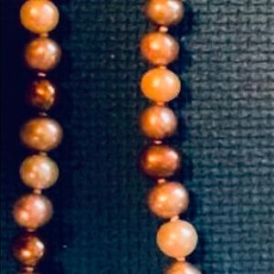 Wooden Polished Beaded Necklace